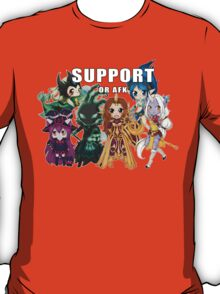 Support or AFK - League of Legends chibi t-shirt T-Shirt