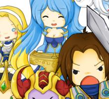 DEMACIA! - League of Legends Sticker