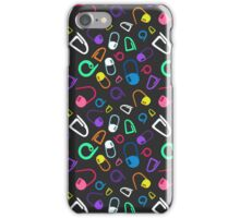 mark my stitches (black version) iPhone Case/Skin