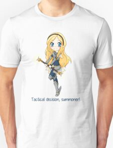 Lux chibi - Tactical decision! - League of Legends T-Shirt