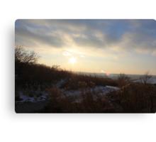 Nebraska Sunset Canvas Print