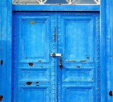 Blue Door by Valentino Visentini
