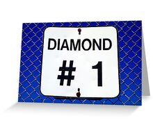 Diamond 1 Greeting Card