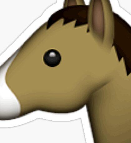 Horse Emoji Sticker