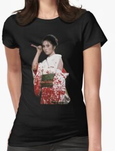 Lady Snowblood Womens Fitted T-Shirt