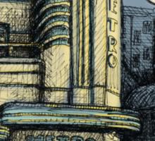 The Metro (Minerva) Theatre, Potts Point Sticker