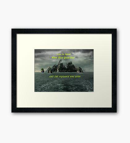 Lian Yu Island Framed Print