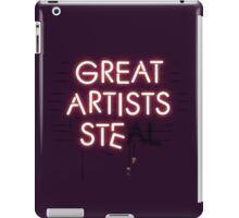 Good Artists Copy iPad Case/Skin