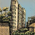 Onslow st, Potts Point by Joel Tarling