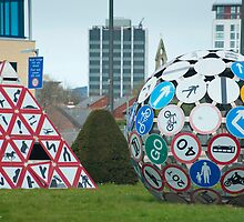 Magic Roundabout, Splott, Cardiff by photoeverywhere