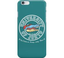 University of Johto iPhone Case/Skin
