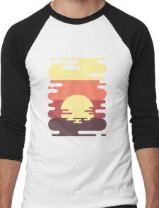 Sunset Men's Baseball ¾ T-Shirt