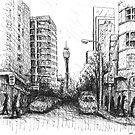 Orwell St, Potts Point by Joel Tarling