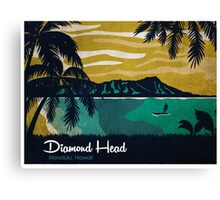 Diamond Head Hawaii Canvas Print