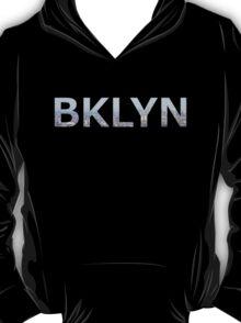 BKLYN aerial photo skyline logo T-Shirt