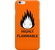 Highly Flammable and Talkative Flame iPhone Case/Skin