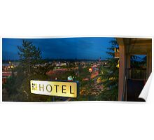Motel by the highway Poster
