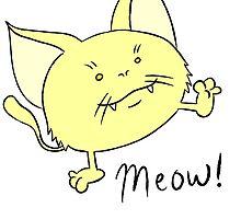 Meow! by Stefan Reed