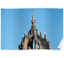 Spire of St Giles Cathedral, Edinburgh Poster