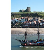 Replica of the Bark Endeavour Photographic Print