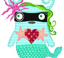 Mermonster  by alphabetty