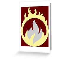 Legends of Tomorrow - Heatwave Greeting Card