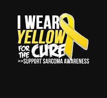 Sarcoma Ribbon For The Cure  Unisex T-Shirt