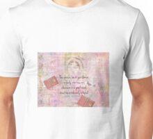 Jane Austen funny Intolerably Stupid quote humor  Unisex T-Shirt