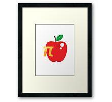 Apple Pi Framed Print