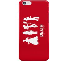 Death Is Your Gift V.2 iPhone Case/Skin