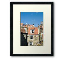 Fishermans cottages Framed Print