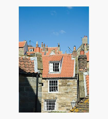 Fishermans cottages Photographic Print