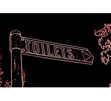 Toilets> Photographic Print