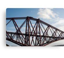 forth bridge renovation Canvas Print
