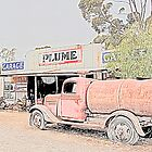 Heritage Garage and Tanker by jwwallace