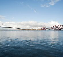 Forth Rail and Road Bridges by photoeverywhere