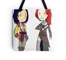 pirate girlfriends Tote Bag