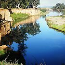 Beautiful Werribee River & its reflections - Werribee, Vic. Australia* by EdsMum