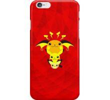 Pokemon - Pikachu's Cute Evolution iPhone Case/Skin