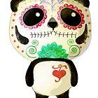 El Dia de Los Muertos Panda by colonelle