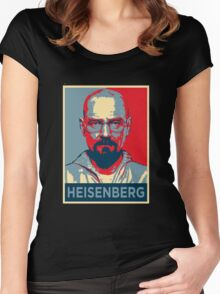 Walter White a.k.a. Heisenberg Women's Fitted Scoop T-Shirt