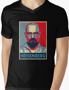 Walter White a.k.a. Heisenberg Mens V-Neck T-Shirt