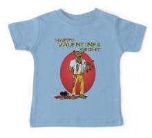 Happy Zombie Valentines day Baby Tee