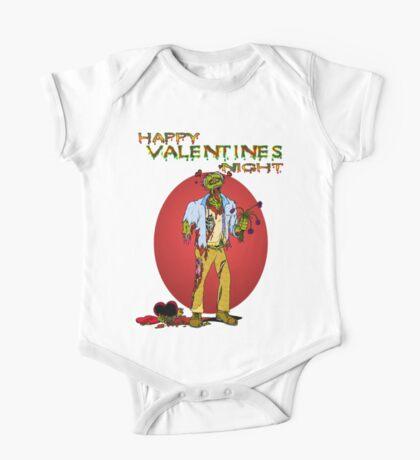 Happy Zombie Valentines day One Piece - Short Sleeve