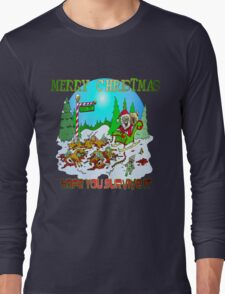Zombie Santa is here T-Shirt