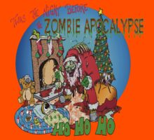 Merry Zombified Christmas Kids Clothes