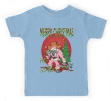Merry Zombie Christmas Kids Tee