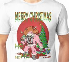 Merry Zombie Christmas Unisex T-Shirt