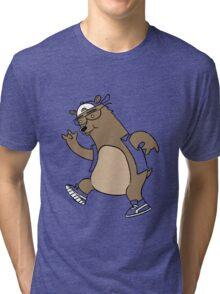 Bear Tri-blend T-Shirt