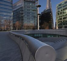 The Shard Building from the South Bank 1 by WillG